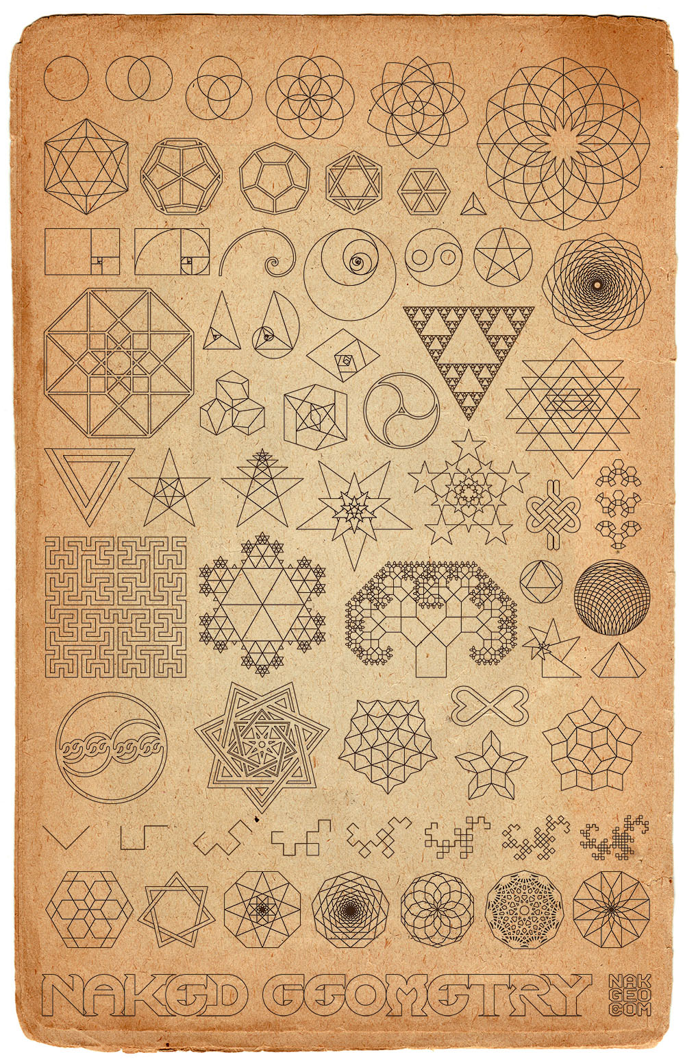 MAGIC by Grady McFerrin | Book Art - Illustrated boards ...  |Ancient Sacred Geometry